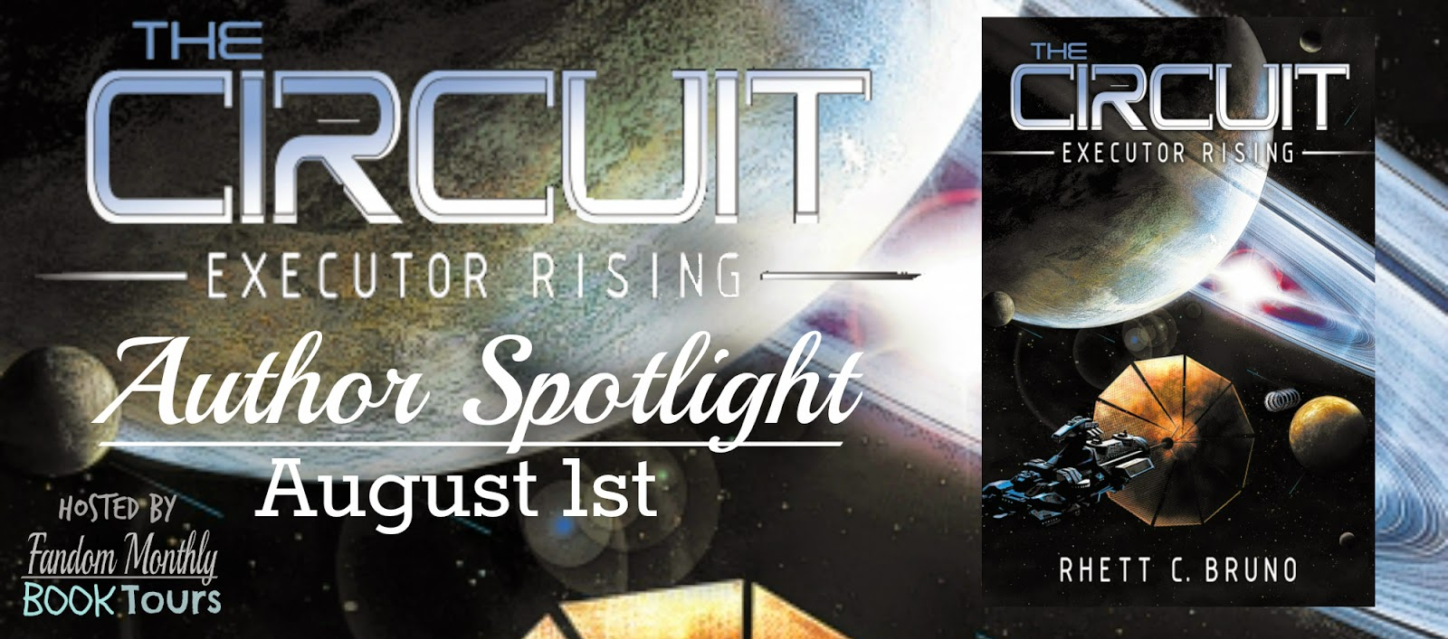 The Circuit: Executor Rising Author Spotlight with Excerpt and Giveaway