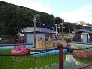 Shanklin Seafront amusement park