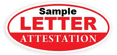 Attestation Letter & Jobs Reference Letter | Nigeria AirForce, Navy, Army, Police, Immigration