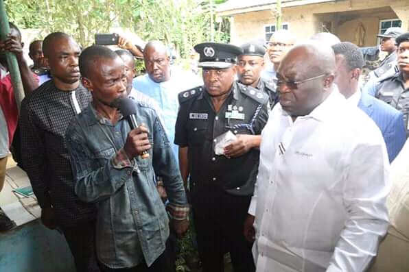 @GovernorIkpeazu visits family of slain Okada-rider ...says Suspected Killer Soldier has been arrested