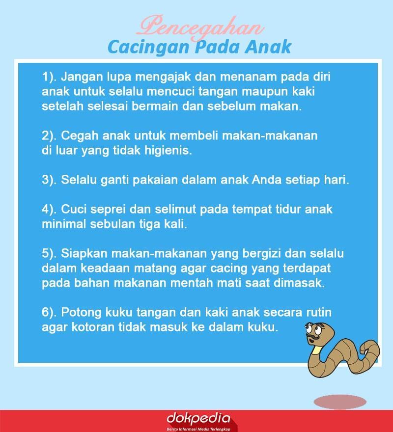 pencegahan cacingan pada anak