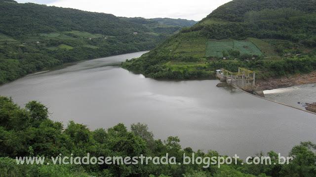 Lago da Hidrelétrica 14 de Julho, Cotiporã, Serra Gaúcha