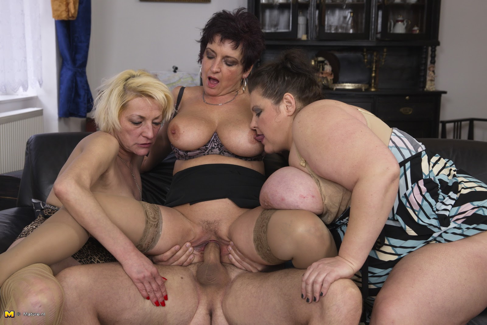 Group Sex With Mature Women