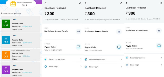 Paytm cash earning apps