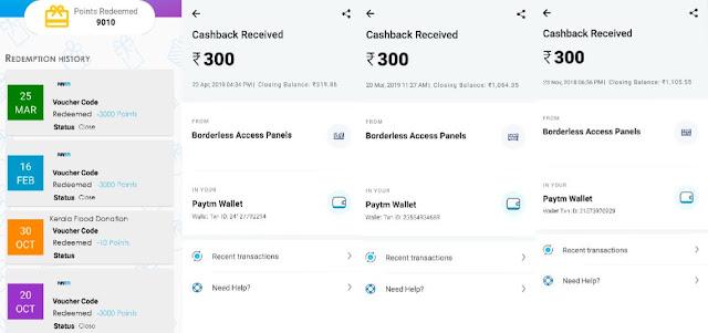 Paytm cash earning apps