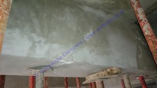 balok beton pecah dan akan diperkuat serat karbon