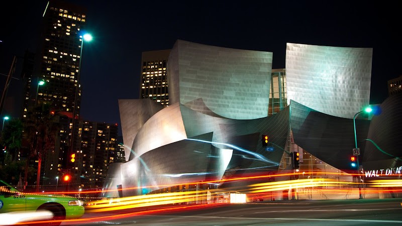 Walt Disney Concert Hall in L.A. HD