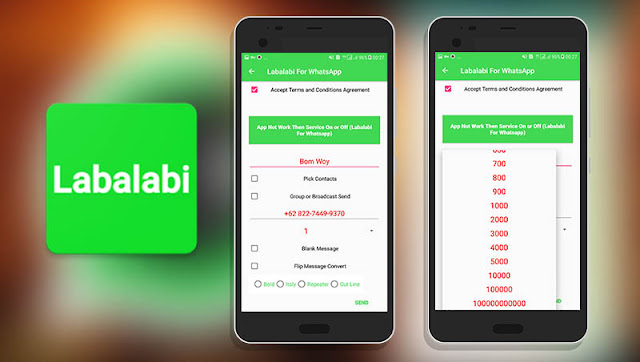 Download Labalabi for Whatsapp APK  Untuk BOM Chat Terbaru 2018, Cara Bom Chat Whatsapp Terbaru