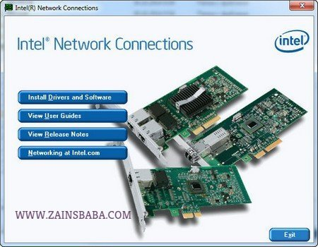 Intel Ethernet Connections Drivers CD 22.10.0 Latest