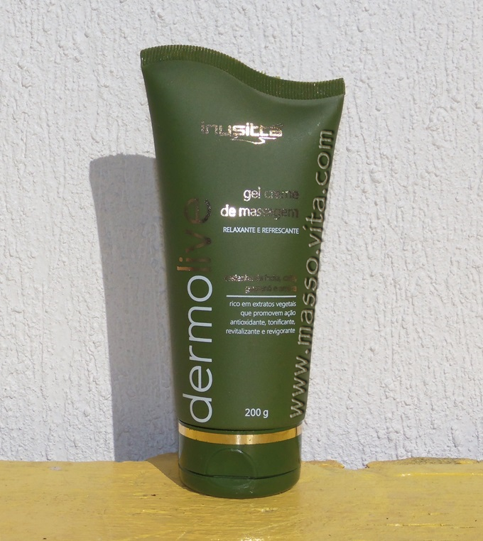 Gel Creme de Massagem