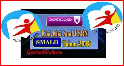 Kisi-Kisi Soal USBN SMALB 2017-2018