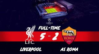 Liverpool vs AS Roma 5-2 Video Gol Highlights - Semifinal Liga Champions