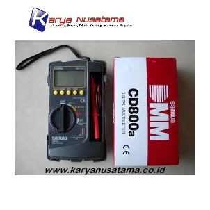 Jual Sanwa CD800a Digital Multimeter Terlengkap di Surabaya
