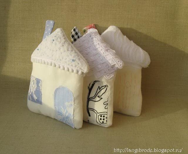 белые домики