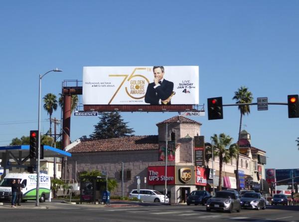 75th Golden Globe Awards billboard