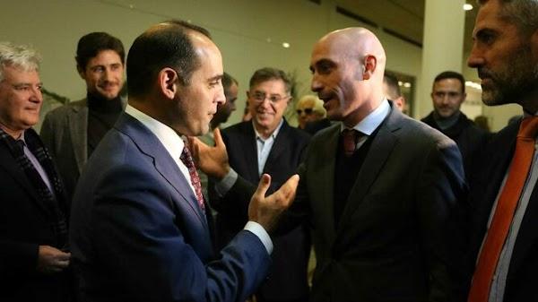 """Rubiales, sobre el Málaga: """"Los dueños son los que tienen que dar un paso adelante"""""""