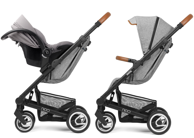Pushchair Raincover Compatible with Mutsy Nexo