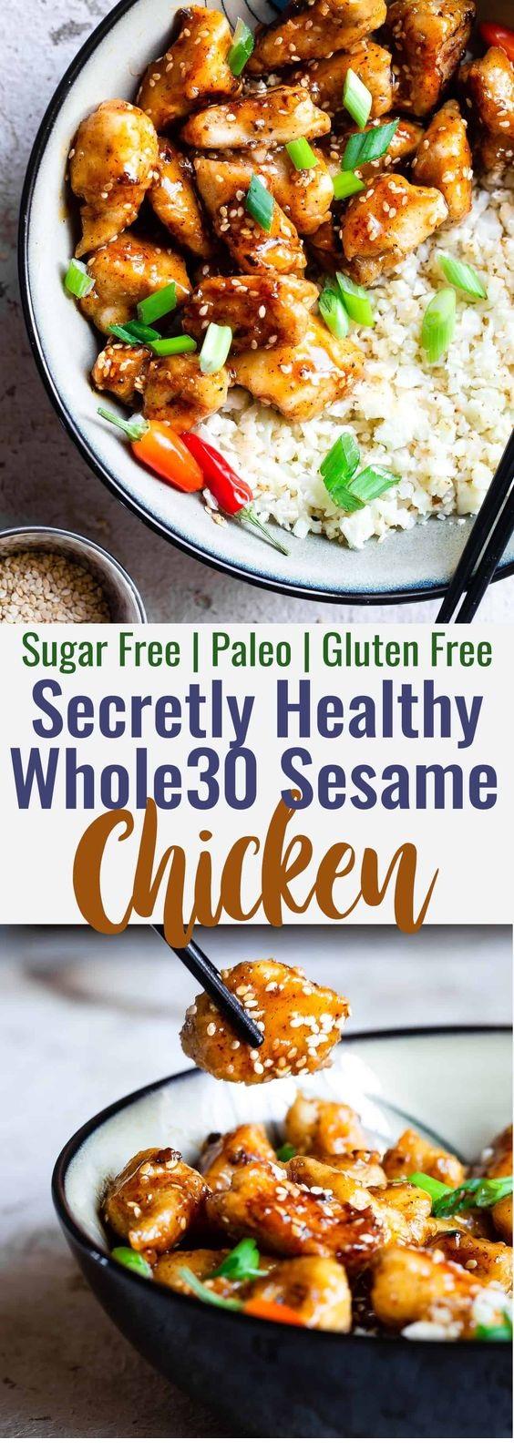 Paleo Easy Gluten Free Healthy Sesame