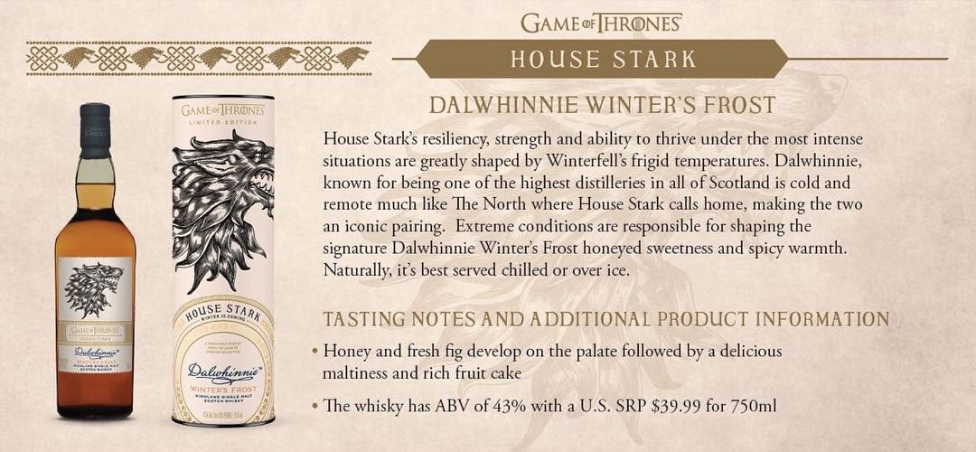 House Stark - Dalwhinnie Winter's Frost