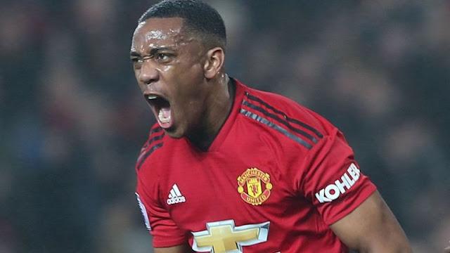 Manchester United Anthony Martial Vs Arsenal