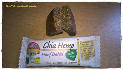 Chia Hemp Hanf Dattel