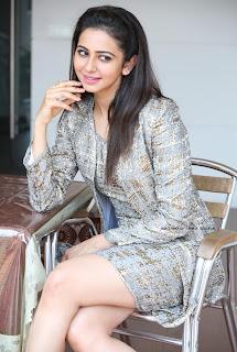 Rakul Preet singh in a Lovely Short Dress