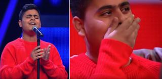 «Μάγεψε» τους πάντες στο γερμανικό The Voice η ερμηνεία του 15χρονου Λάζαρου από την Ηγουμενίτσα
