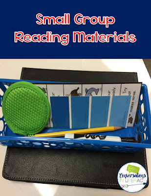 how I store guided reading materials