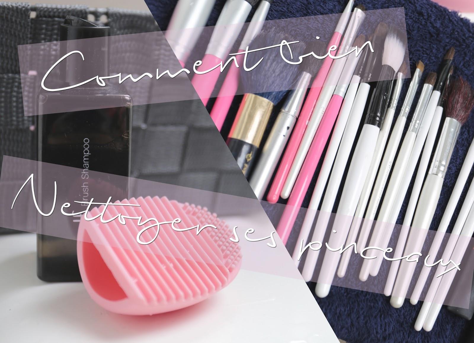 Comment bien nettoyer ses pinceaux makeup | VIDEO + CONCOURS [CLOSED]