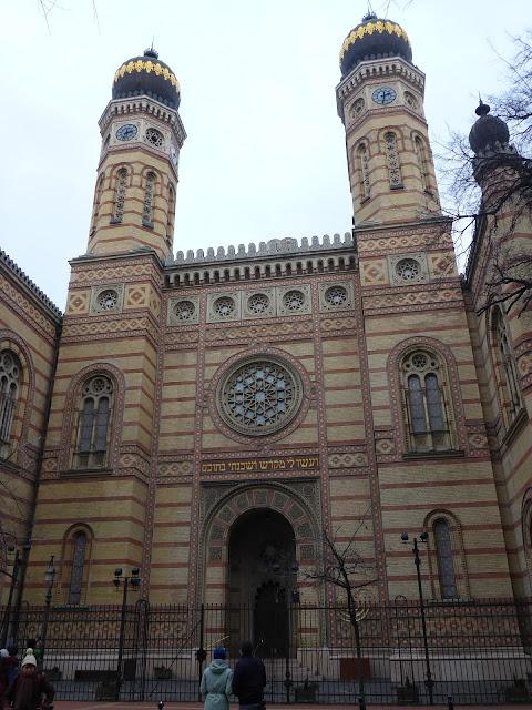 Grande Synagogue Budapest Hongrie