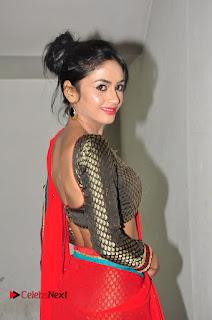 Actress Pooja Sri Pictures in Saree at Spa Ceylon Luxury Ayurveda Curtain Raiser  0073