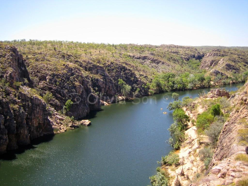 Katherine Gorge, Northern Territory, Australie
