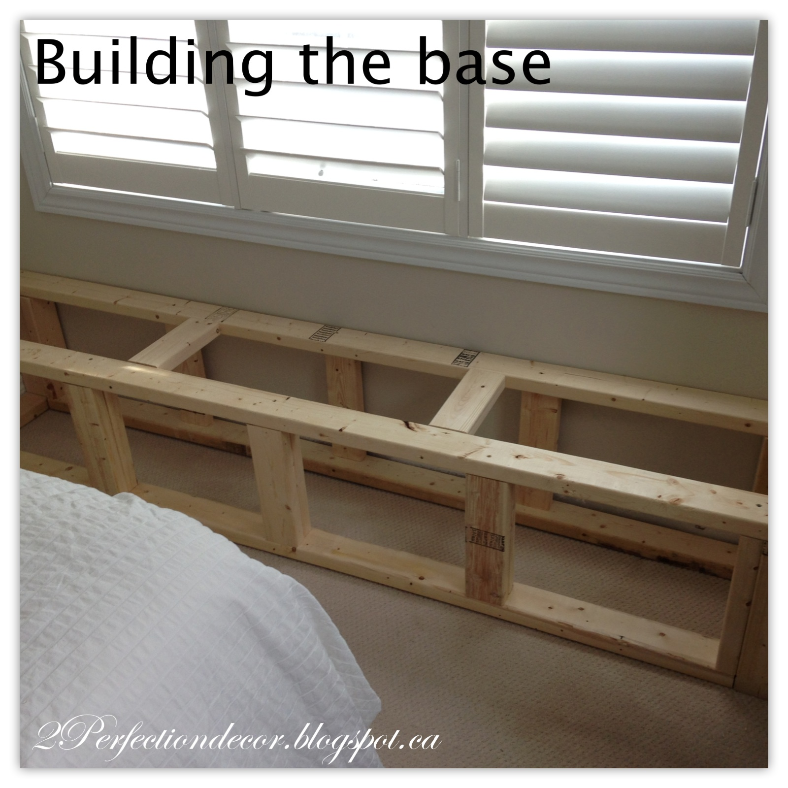 Awe Inspiring 2Perfection Decor Window Seat With Storage Reveal Onthecornerstone Fun Painted Chair Ideas Images Onthecornerstoneorg