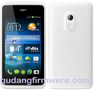 Cara Flash Acer Liquid Z200 100% Sukses
