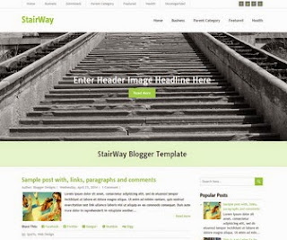 StairWay Blogger Template