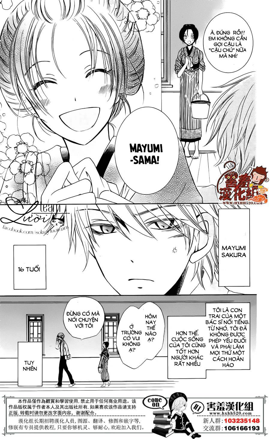 Haikei Mayumi-sama chap 2 - Trang 5
