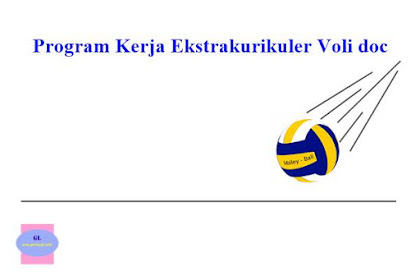 Program Kerja Ekstrakurikuler Voli doc