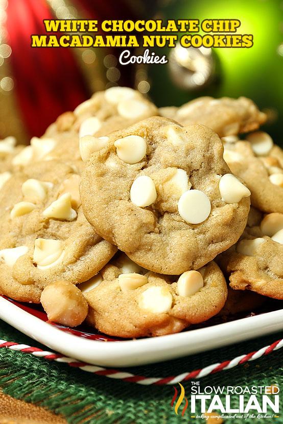 White Chocolate Macadamian Nut Cookies (GF/CF) Recipe — Dishmaps