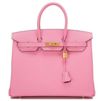 Hermès HSS Birkin Bag in Bubblegum pink