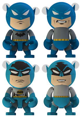 Batman Trexi Vinyl Figure Series by Play Imaginative - Urban Legend & DC Originals