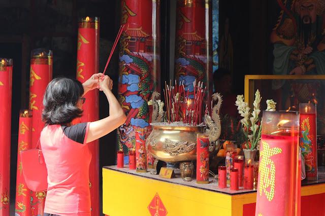 Perayaan Imlek Dua Klenteng di Kota Jogja