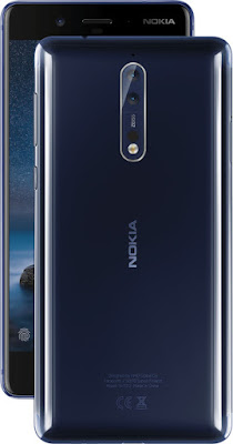 Nokia 8 Tempered Blue Polished