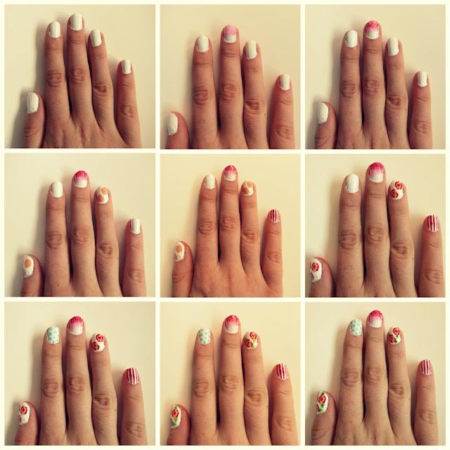 Simple Nail Art Designs For Short Nails At Home