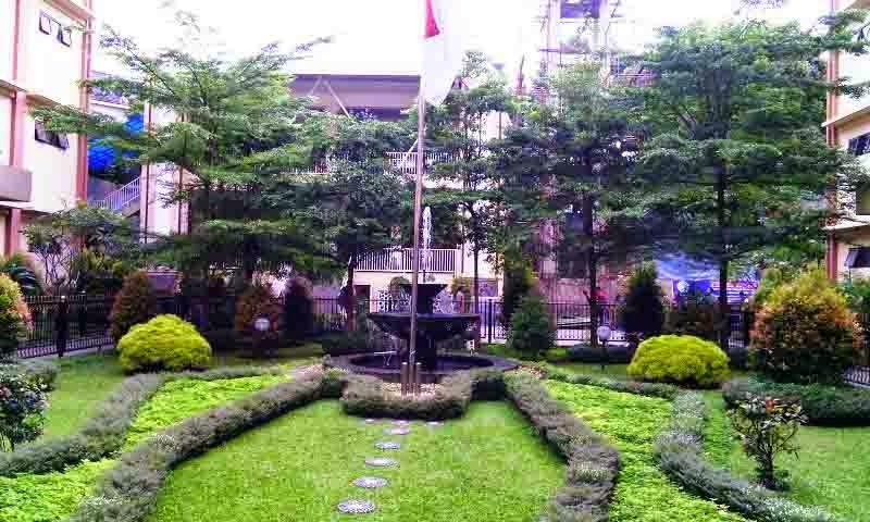 taman dan masjid unindra kampus b - jl. gedong