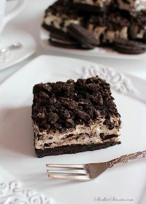 """Ciasto """"Oreo"""" bez Pieczenia - Najlepsze - Przepis - Słodka Strona"""