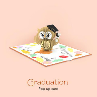 Graduation Pop Up Card
