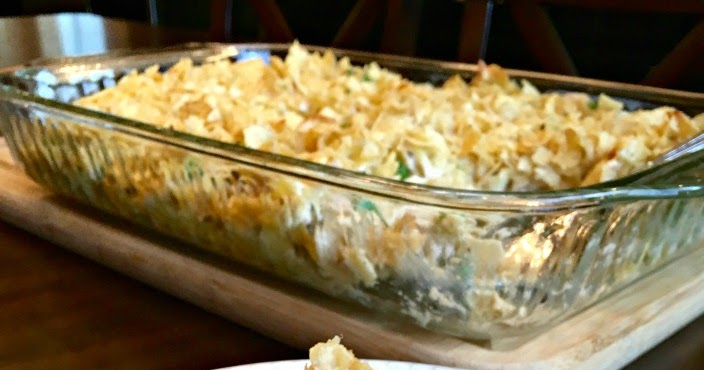 Old Fashioned Tuna Casserole Potato Chips