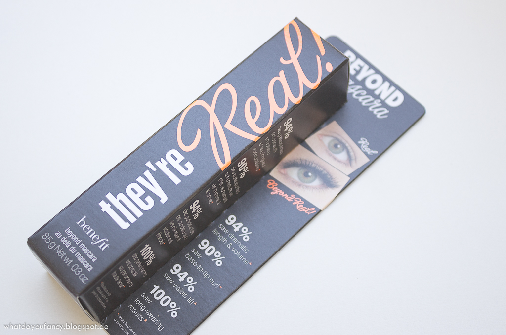 They're real Mascara, They're real Push-up Liner, Hydra-Smooth Lip Color und Rockateur Puder