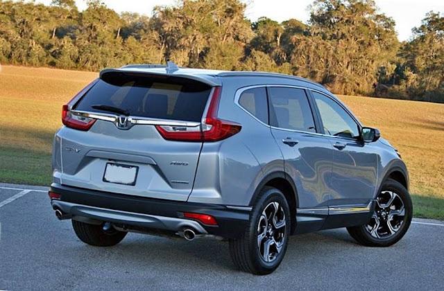 2017 Honda CR-V Driven