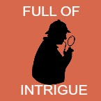 full of intrigue book icon